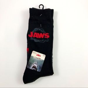 New Mens Universal JAWS Socks Size 6.5-12